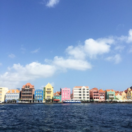 View of Willemstad from the opposite side of the canal.